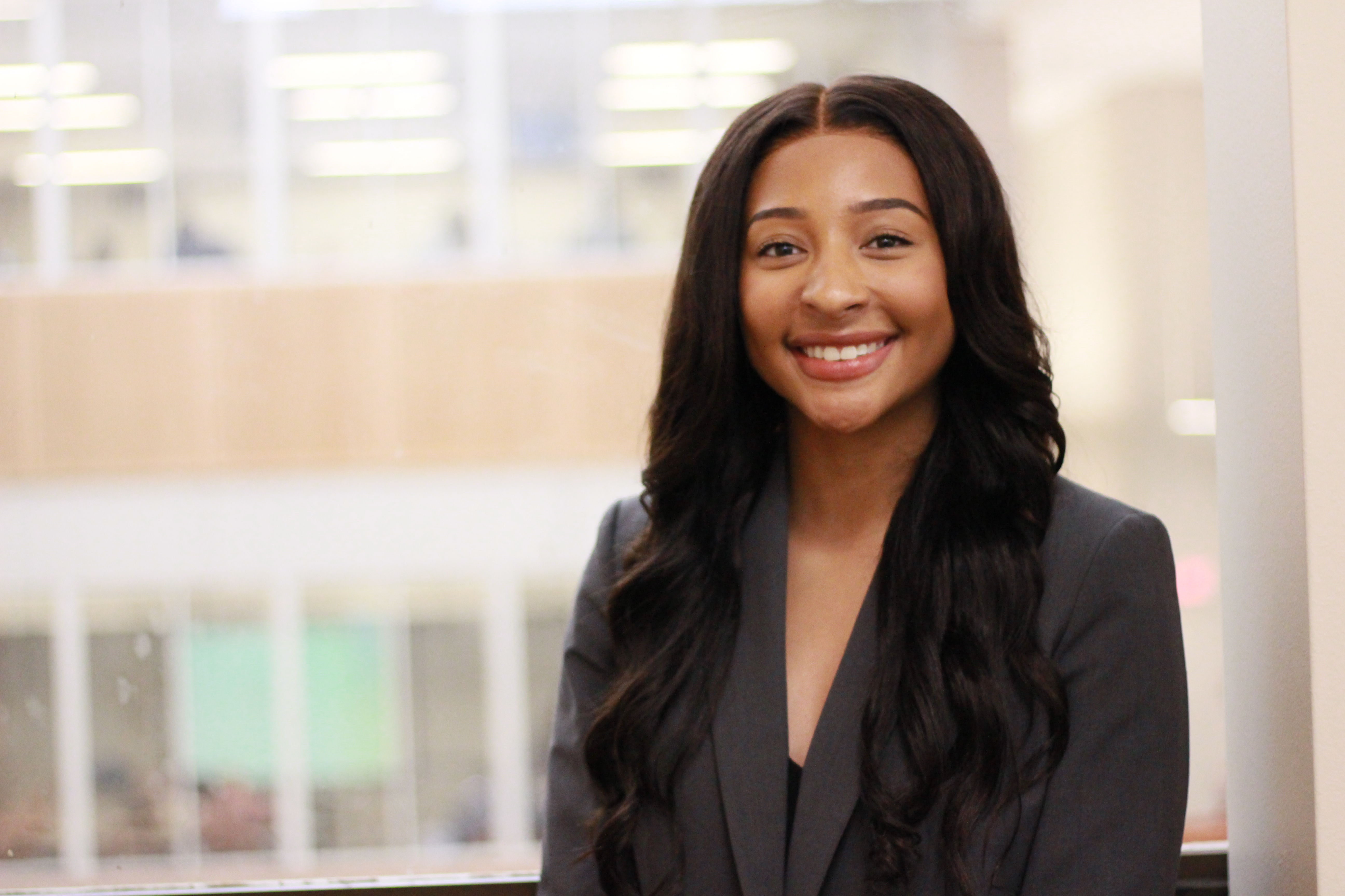 Kayla Martin LAW '21 in the Temple Law Review Office.