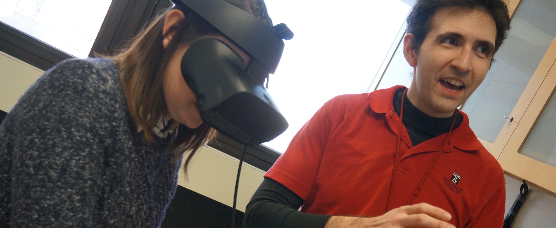 virtual reality experiment